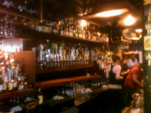 The Bar at the Avenue Pub