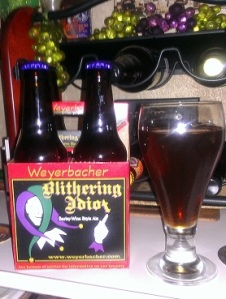 Brew Review - Weyerbacher Blithering Idiot