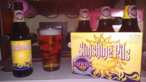 Brew Review - Troegs' Sunshine Pils, the Perfect Vanilla Ice Cream for Converting Heathens