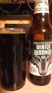 Lancaster Brewing's Winter Warmer