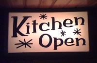 The kitchen is open!