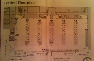 "GABF ""On The Road"" Baltimore floor plan"
