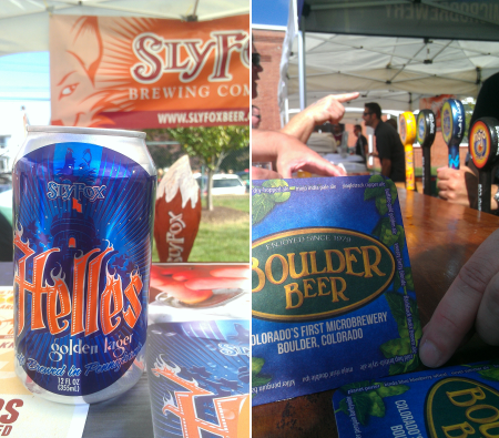 Sly Fox and Boulder Brewing in the house.
