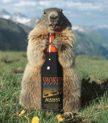 The FInal Sip:  Due to lack of true groundhogs in their State, Alaskans celebrate Marmot Day on February 2nd.