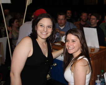 All smiles from the lovely ladies at Barron Hill Brewery.
