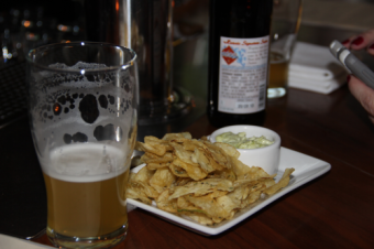 Rosemary Chips at Tria. Yummy!
