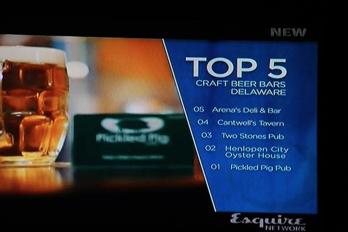 Top Five craft beer bars.