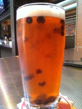Tracey Fell in Love with The Beer Works' version of a Blueberry Ale