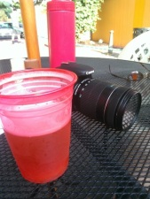 Me and the Camera taking a break at The Lobster Shanty