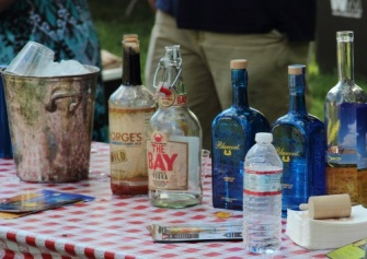 It's not about just beer and wine anymore. There were several tents offering tastes of distilled spirits, including this one from Philadelphia Distilling.