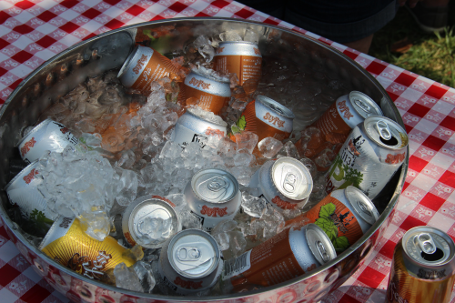 A bucket of ice cold Sly Fox. Looks good, doesn't it?