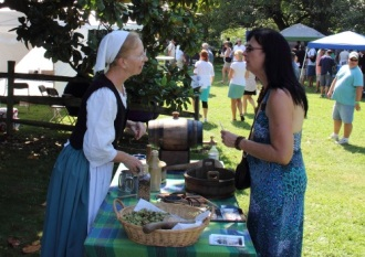 Susan Wagner talks to Tracey about their literature on historic brewing.