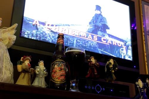 Boston Beer Company's Old Fezziwig, A Christmas Carol and ChristmasPudding
