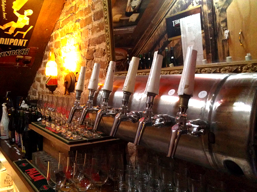 Taps in The Cave