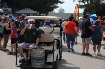Beer Man Matt (State Line Liquors) Delievering the Goods