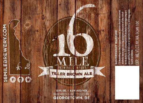 16 Mile TIller Brown