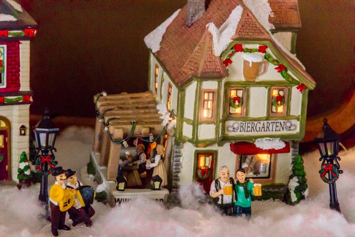 St Nicholas Christmas Village.St Nicholas Square Village The Dogs Of Beer
